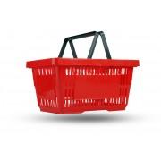 Пластиковая покупательская корзина 20 л.