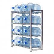 Стеллаж для хранения 12-ти бутылей без крыши
