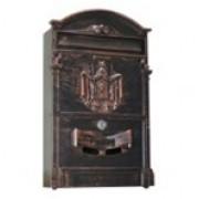 Ящик почтовый LB (ящики четырех цветов: античный медный, античный бронзовый, античный зеленый, черный.)